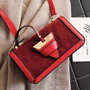 f4fcf4672f9dba New! Black Vintage Faux Suede Crossbody Handbag.